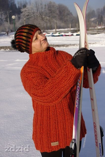 chunky sweater - Eskimo Drops