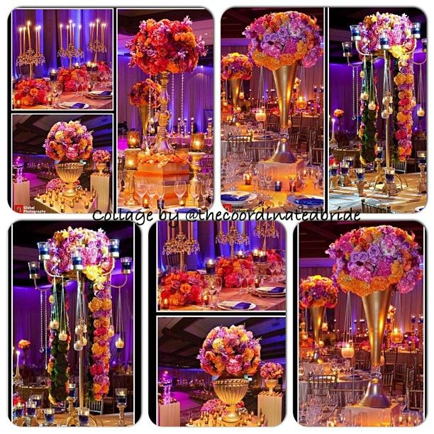Jeweled tone wedding decor wedding decor pinterest for Art decoration schwaig
