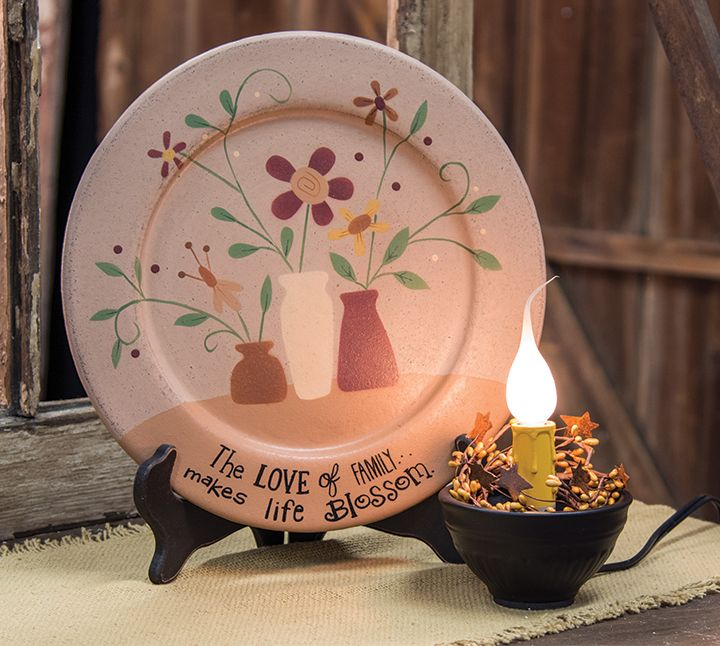 KP Creek Gifts - Love of Family Plate