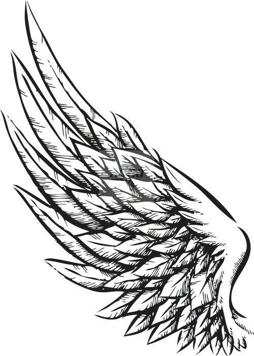 The 25 Best Wing Tattoo Designs Ideas On Pinterest