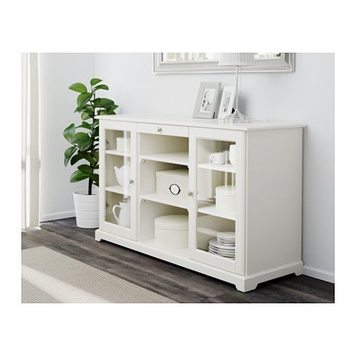 LIATORP Sideboard - weiß - IKEA.  Comes in white and grey.