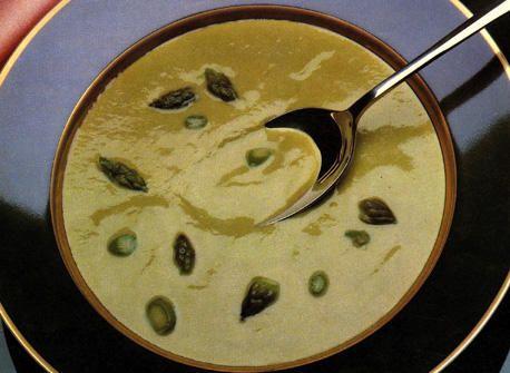 Crème d'asperges recette | Plaisirs laitiers
