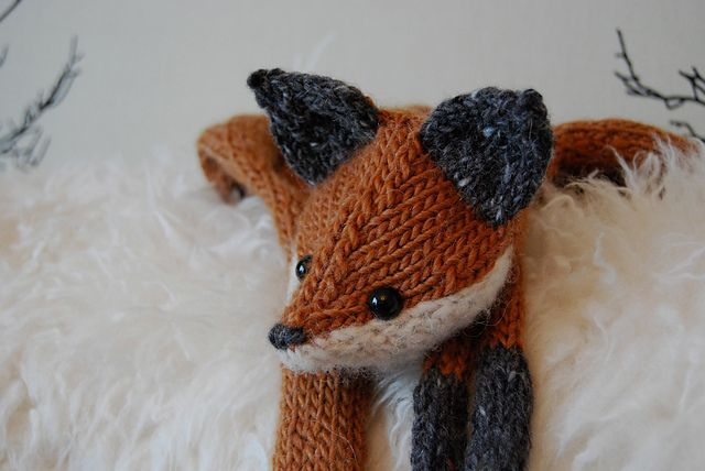 Ravelry: TillyG's Fantastic Mr Fox - Great Pattern from Tiny Owl Knits ...