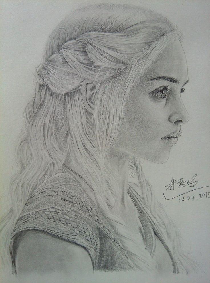 Daenerys Targaryen by XuemingLin.deviantart.com on @DeviantArt
