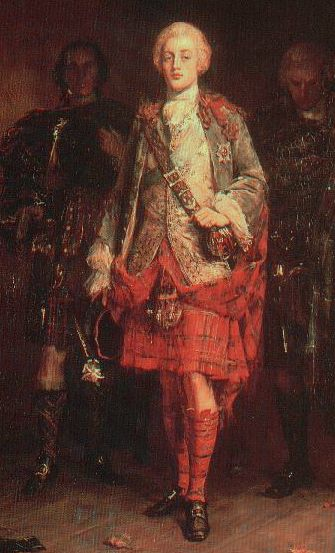 "Prince Charles Edward Louis John Casimir Sylvester Severino Maria Stuart (31 December 1720 – 31 January 1788) commonly known as Bonnie Prince Charlie or The Young Pretender was the second Jacobite  pretender  to the thrones of England, Scotland, and Ireland. ""Bonnie Prince Charlie"" by John Pettie, (1898) oil on canvas."