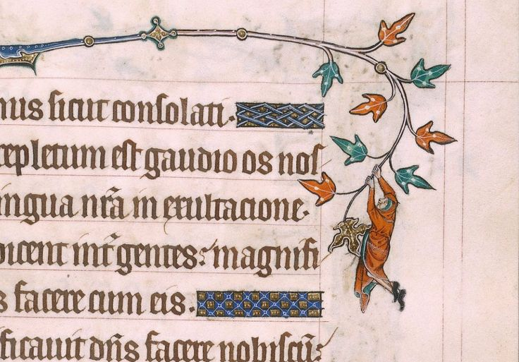 Hanging out in the margins.