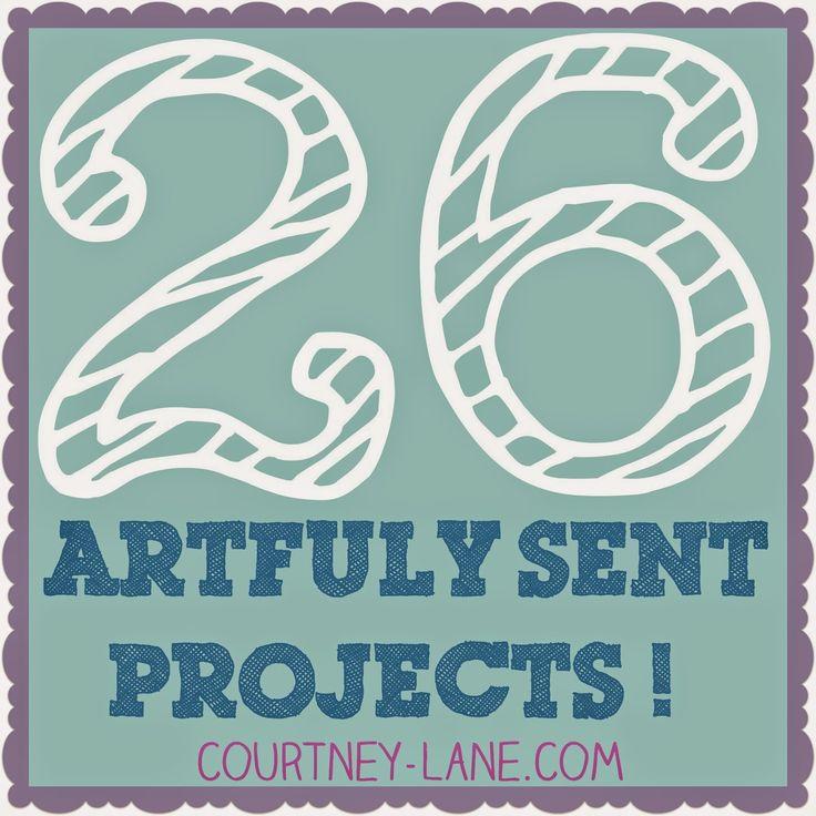 Twenty Six Close To My Heart Artfully Sent Cricut Cartridge projects!