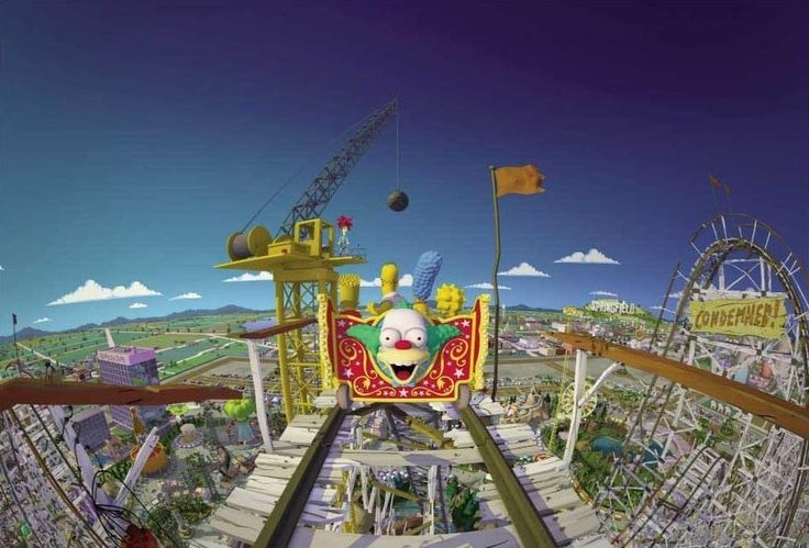 Be warned — The Simpsons Ride is a lot of fun but might be too intense for little ones.