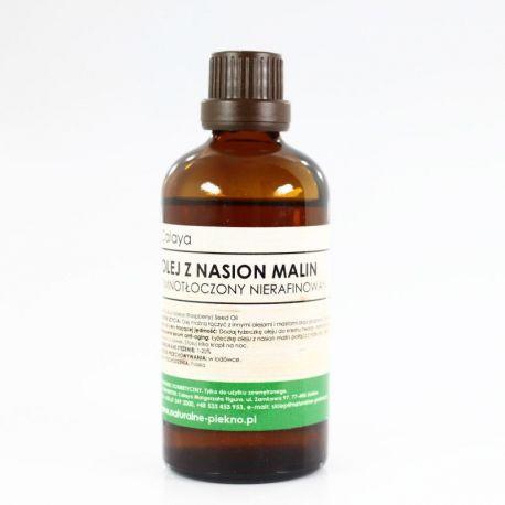 Olej z Nasion Malin Zimnotłoczony Nierafinowany