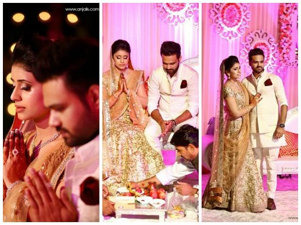 The 8 best Shifa and Puneet Yadav Roka Ceremony images on