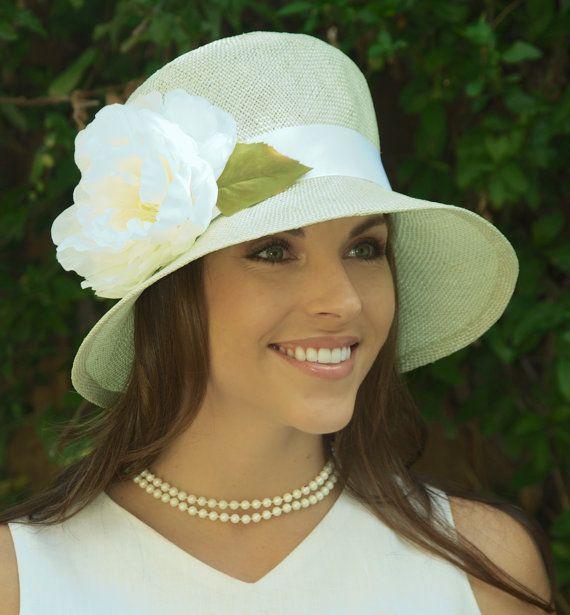 Свадебная шляпа, церковь шляпу, соломенную Клош, женщин бледно-зеленого цвета соломенная шляпа, котелок, Даунтон аббатство шляпа, 1920-ые 1930-х годов шляпа, Ascot шляпа шляпа случай