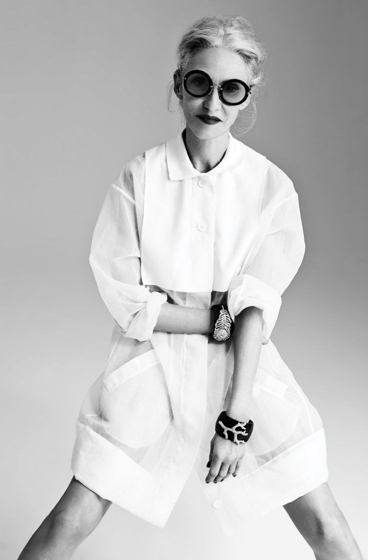 Even at 65, Linda Rodin does a white shirt better than us | Fashion | FASHION Magazine |