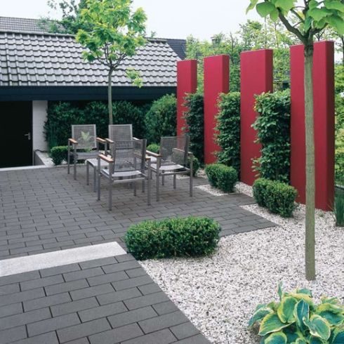 kleines gunstige terrassenplatten gute pic und eebfcbfdd backyard designs backyard ideas