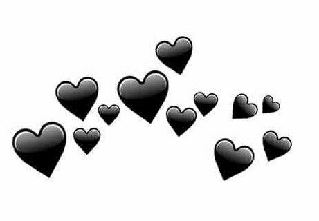 Resultado de imagem para corazones png no fundo preto