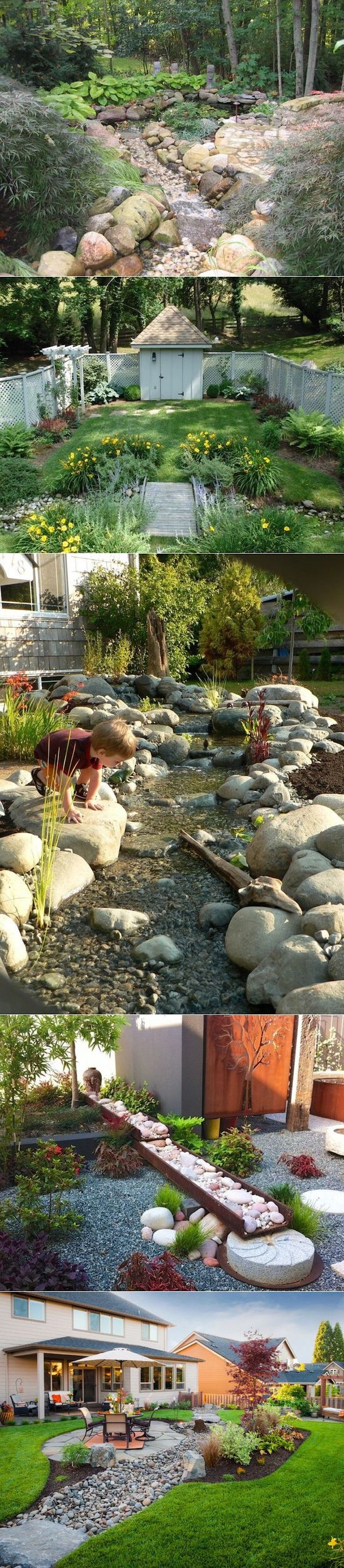 Dry Creek Beds and Garden Feature ClipStitch