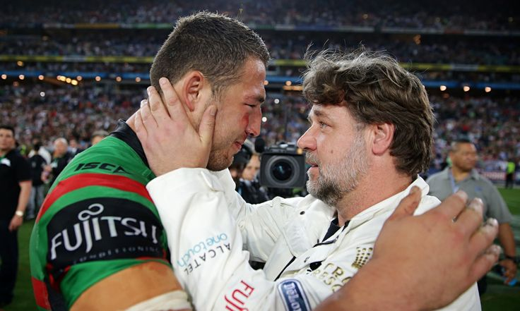 Sam Burgess should be playing for England, says Russell Crowe