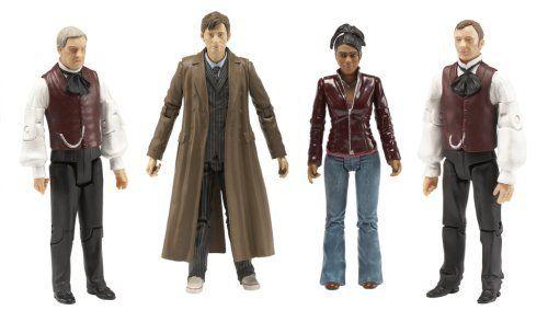 Underground Toys Doctor Who - 5 Utopia with Professor Yana Companion Martha Gift Set by Underground Toys
