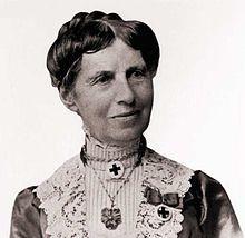 Clara Barton (1821-1912) - Civil War nurse, founder of the American Red Cross.