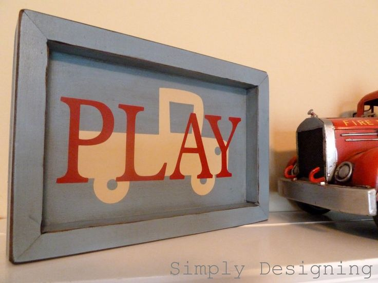 Simply Designing with Ashley Phipps: PLAY Shadow Box