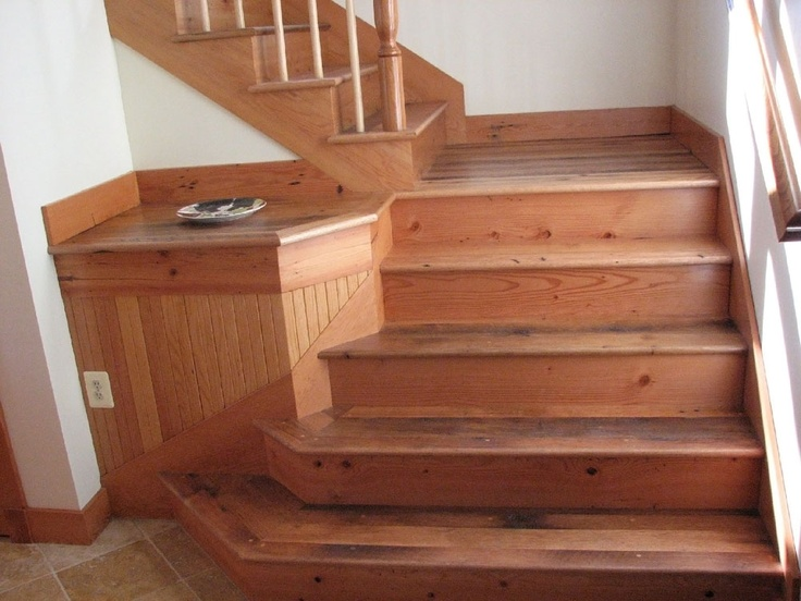 Best Antique Barnboard Oak Stair Treads And Risers Stairs 640 x 480