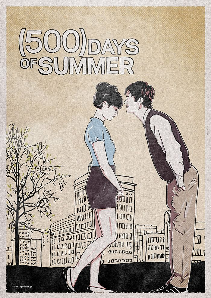 500 Days Of Summer By George Katralis 500 Days Of Summer