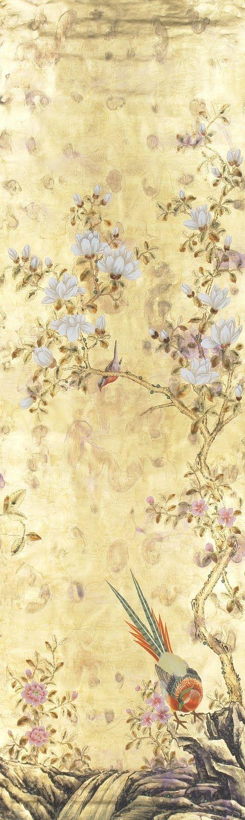 de Gournay 'Japanes Garden' design