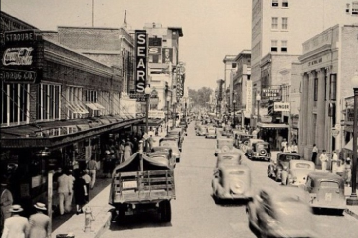 Downtown Baton Rouge in the 1940's!