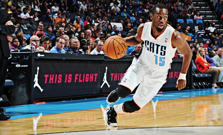 CHARLOTTE, NC - Charlotte Bobcats – Time Warner Cable Arena  Charlotte Bobcats Game on January 15, 21, or 23 (Up to 80% Off). Three Seating Options Available.