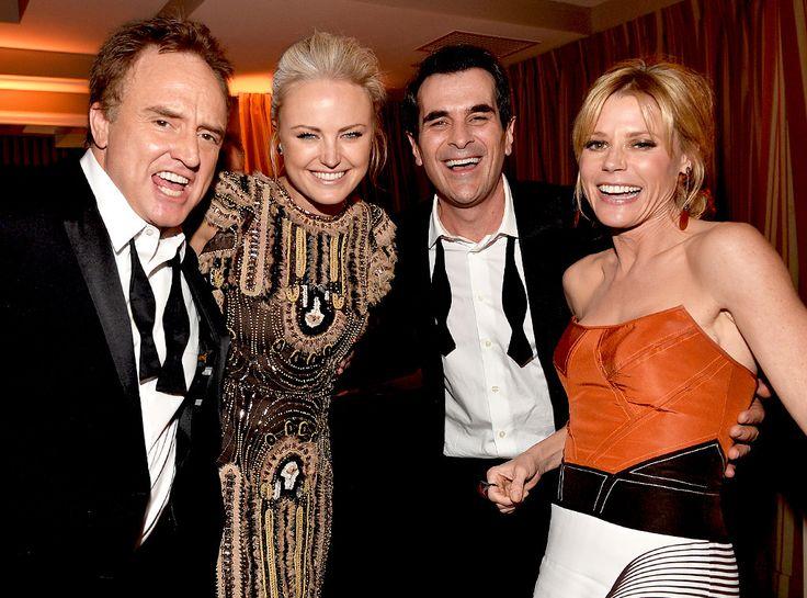 Bradley Whitford, Malin Akerman, Ty Burrell & Julie Bowen - ABC's TV couples
