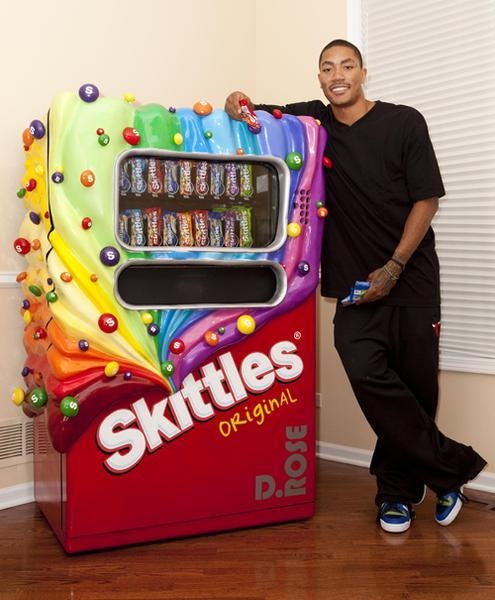 I found 'Life Size Skittles Candy Machine' on Wish, check it out!