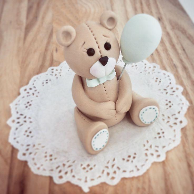 Sculpted teddy