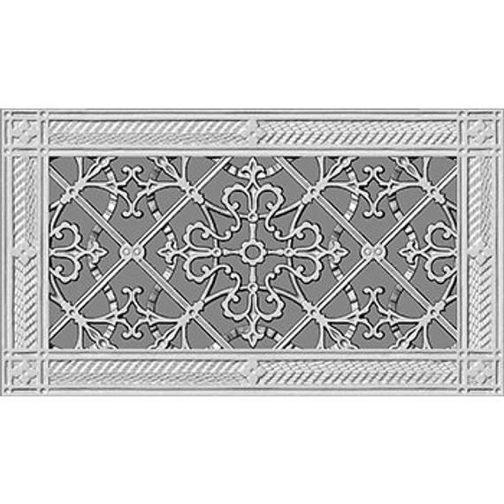 Decorative Vent Cover 6x12 Coves A 6x12 Duct In Arts And Crafts Style In 2020 Decorative Vent Cover Vent Covers Wall Vent Covers