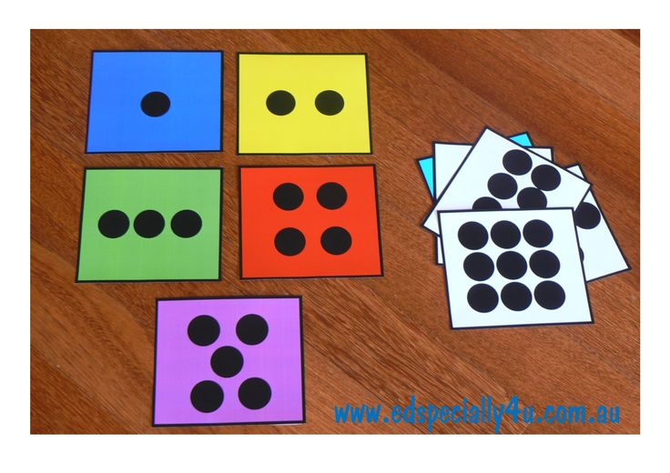 Dot Formation Flashcards.  Bright and colourful, these flashcards are motivating as both a classroom display and manipulative resource. www.edspecially4u.com.au