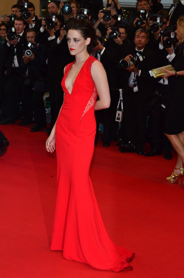 Kristen Stewart was the ultimate Lady In Red at the Cannes Film Festival in 2012. In a Reem Acra gown, she embodies pure glamour and wowed the red carpet.  A perfect dress to impress. Café Society is in cinemas September 2.