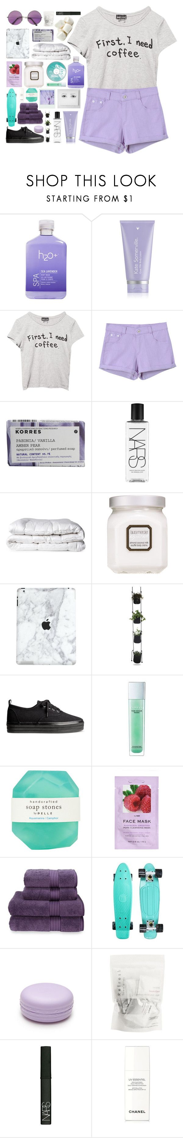 """""""euphoria"""" by cjcstyle ❤ liked on Polyvore featuring H2O+, Kate Somerville, Wet Seal, Chicnova Fashion, Korres, NARS Cosmetics, Brinkhaus, Laura Mercier, H&M and Enprani"""
