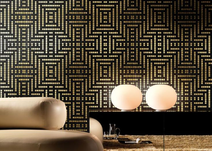 Mosaico+ Decor Collection - Peru Oro  #mosaicopiu #gold #mosaic #oro #mosaico #living #walldecor #chic #decoration #lux #interior #interiordesign #madeinitaly #latinamerica #peru #homedecor