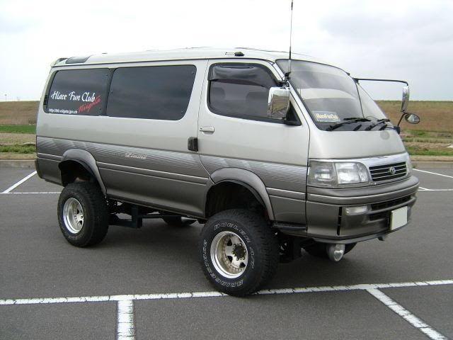Toyota Hiace 4x4