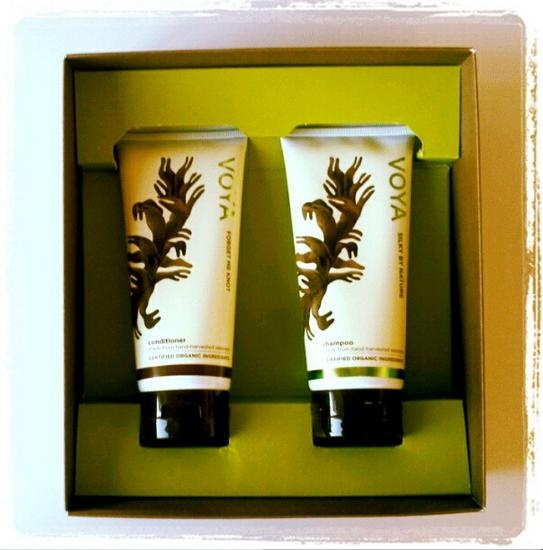 And inside from VOYA Organic Beauty from the Sea these fab hair care products! Ideal Christmas prezzie!