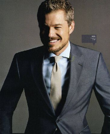 Oh McSteamy... You are so sexy! Maybe charcoal gray suits, light ...