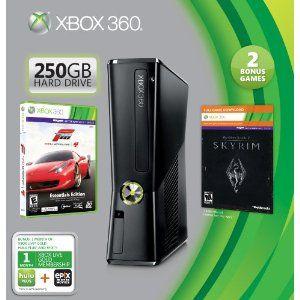 Xbox 360 250GB Holiday Value Bundle --- http://www.amazon.com/Xbox-360-250GB-Holiday-Value-Bundle/dp/B0096KEMUY/?tag=secrettipsonc-20