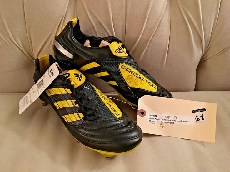 Adidas Predator 2010 World Cup X TRX SG Sounders Brad Evans Autograph 9-1/2 NEW! #Adidas #Cleats