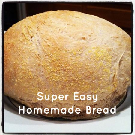 super easy home made bread recipe for french bread