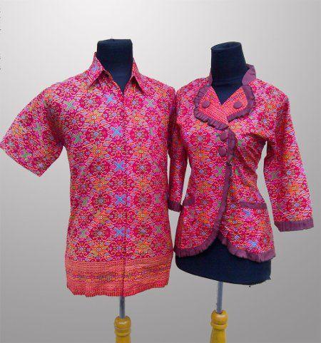 Baju Batik Couple Anak Muda Muslim