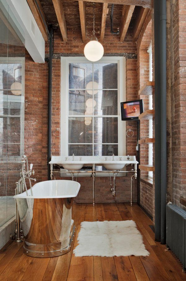 Sensational industrial loft in TriBeCa