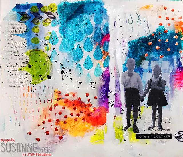 Susanne Rose Designs: Use the Gelli Plate with Watercolors Video Tutorial
