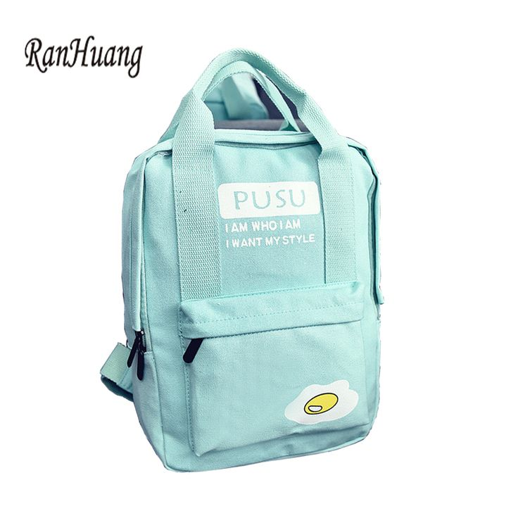 Like and Share if you want this  Egg Canvas Backpack   Best Price and Free Shipping Worldwide    #clothing #fashion #clothes #fashionable #style