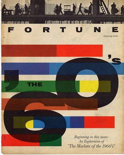 Fortune 1959 | Mid-Century Modern Graphic Design