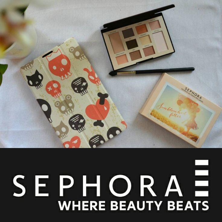 Uroczy prezent od Streetcom.  Dziękuję za odrobinę słońca w ten deszczowy dzień! :) #sephora #wherebeautybeats #sephoramakeupstudio https://www.instagram.com/p/BH2eW8WDdLM/