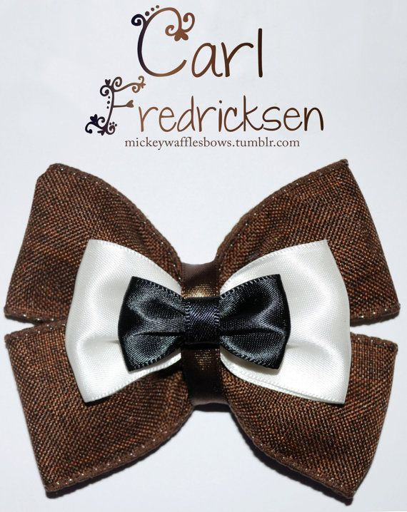 Carl Fredricksen Hair Bow