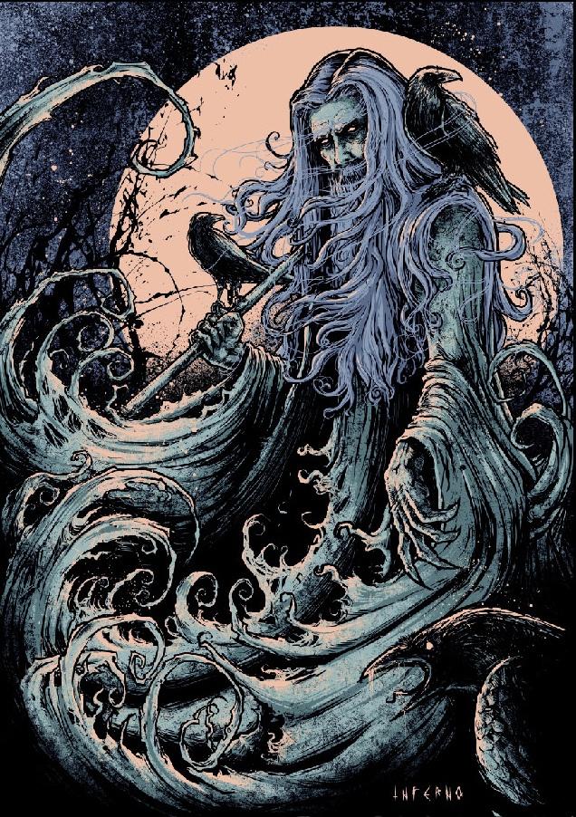 70 best Odin Art images on Pinterest | Ravens, Crows ...